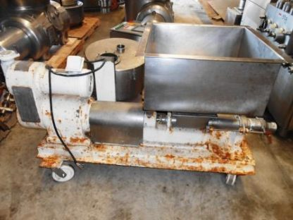 Stainless Auger With Stainless Hopper - #1554