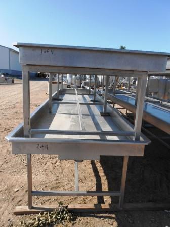 250 Gallon Drain Table - #1658