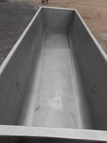 300 Gallon Stainless Tub - #1974