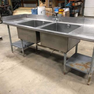 2 Compartment Sinks - #2733