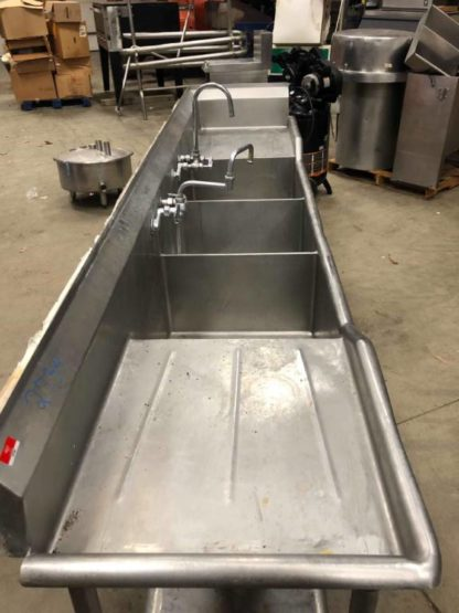 3 Compartment Sink - #2734